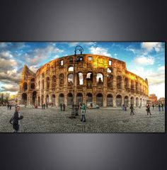 Colosseum, Rome Free Entry, Archaeological Site, Historical Sites, Louvre, Museum, Italy, Building, Travel, Rome