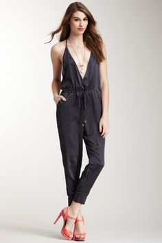 Quirky but very adorable.  Risky but sexy.  I'm a fan :)    Plunge Jumpsuit