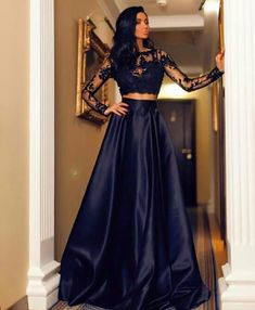 From Beba Dark blue gown.. So special