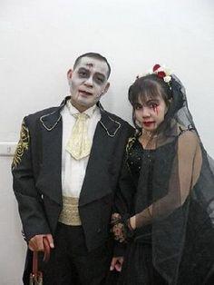 vampire wedding dresses