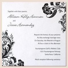 wedding invitation design - Google Search
