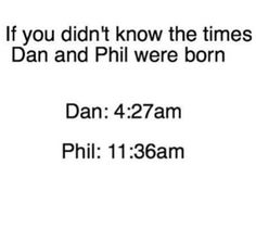 Dan was born on the 11th of June, 4:37 AM. I was born on the 19th of June, 4:05 AM WHAT IS HAPPENING