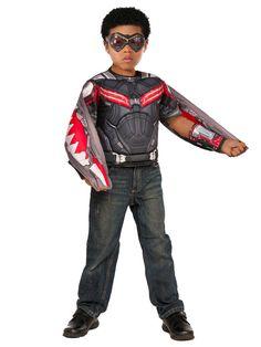 Captain America: Civil War Boy's Falcon Deluxe Costume