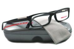 Prada Eyeglasses VPS 10A BLACK 1AB-1O1 VPR10A « Impulse Clothes