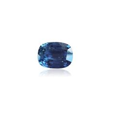 3.20 ct, Sapphire, Cushion, Blue, Violet. VVS Type II. IGR certificate. Light heat. We supply certificated sapphire stones from Thailand, Sri Lanka, Mozambique.  www.thegembank.com. We are a gemstone business from United Kingdom.
