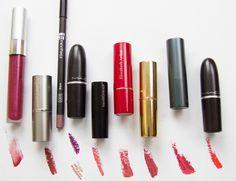 Winter lipstick favorites
