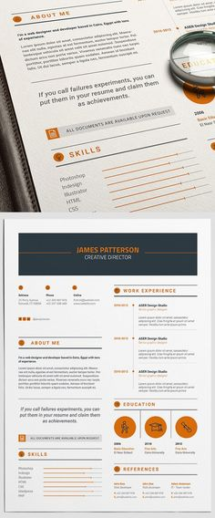 50 Free Resume Templates: Best Of 2018 - 37 Simple Resume Template, Modern Resume Template, Creative Resume Templates, Cv Templates Free Download, Cover Letter Template, Free Resume, Resume Writing, Writing Tips, Word Free