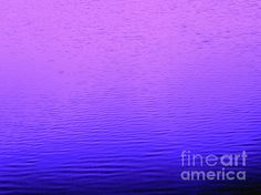 Purple and Blue Water