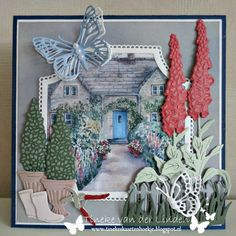 Marianne Design Cards, Christian Cards, Scrapbook Cards, Scrapbooking, Carnations, Vintage Cards, Kids Rugs, Christmas Ornaments, Halloween
