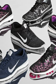 Shine while you sweat in the Nike Free TR 5 Fit & Flyknit Metallic women's training shoes.