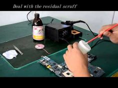 How to repair laptop motherboards use WDS 4860 bga machine