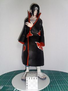 Papercraft - Naruto Itachi Uchiha | Papercraft4u | Free Papercrafts, Paper Toys, Paper Models, Gratis