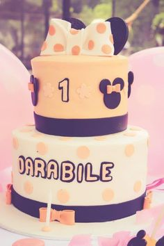 Elegant Kids Organisers treat every aspect of the event from concept to execution with the dedication needed to ensure a stress - free and memorable event. 1 Year Birthday, Minnie Mouse Cake, Mouse Parties, Party Themes, How To Memorize Things, Treats, Elegant, Desserts, Kids