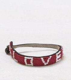 Red LIFE Line #loveisproject Bracelet