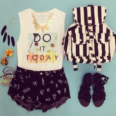 Words of wisdom! #OOTD #F21Spring #Accessories - http://AmericasMall.com/categories/juniors-teens.html