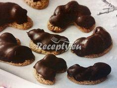 Pařížské rohlíčky podle Nikouše recept - Nejlepší recepty na osvědčené vánoční cukroví - PeceneCukrovi.cz Cookies, Food, Crack Crackers, Biscuits, Essen, Meals, Cookie Recipes, Yemek, Cookie
