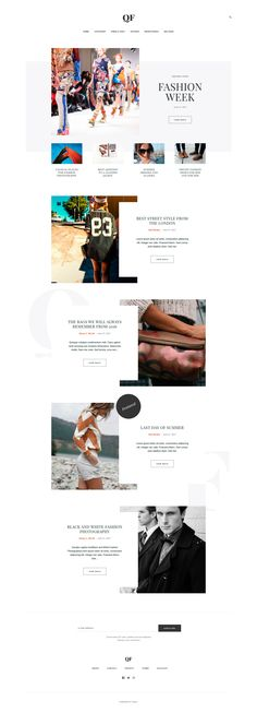 Fashion Blog Theme powered by Publii