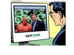 Even Clark Kent respects the green...