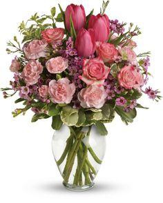 Full Of Love Bouquet  Via teleflora.com