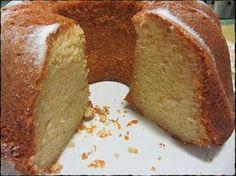 """Bizcocho o """"Bundt Cake"""" de almendra"""