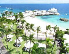 Movenpick hotel mactan island cebu...one of the numerous hotels in Mactan Island...