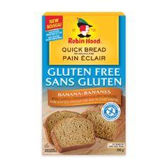 Économisez 125 $  d'un  Mélange pour pain éclair aromatisé aux bananes Robin Hood sans gluten