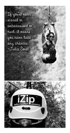 {iZip :: How zip-lining through the Smoky Mountains is a lot like life} Have you ever zip-lined? Where did you do it?