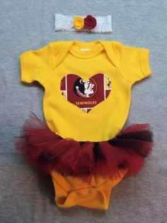 When I have a little girl, she'll be decked out in FSU gear ☺