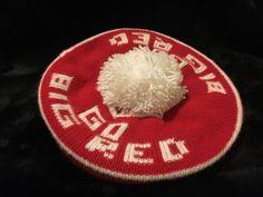 "Vintage Nebraska Football Knitted Hat ""Big Red"" | eBay"
