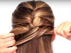"""There's nothing worse than the feeling you get when you find the perfect """"done in three steps"""" hairstyle... more"""