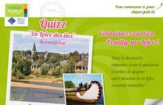 Tentez de gagner votre descente de la Loire en canoë canadien avec Pouilly sur Loire Tourisme ! Lien Facebook : https://www.facebook.com/Pouilly.sur.Loire.Tourisme/app_458170040929881 #gagner #descente #Loire #canoe