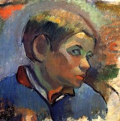 Portrait of a Little Boy Paul Gauguin - 1888