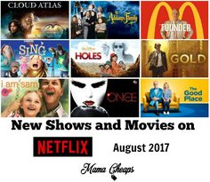 New to Netflix August 2017