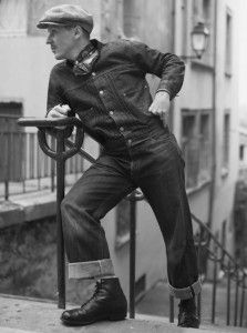 Heres a dude who definitely knows whats what ! Vintage Clothing Styles, Vintage Style Outfits, Vintage Fashion, Denim Vintage, Retro Vintage, Style Vintage Hommes, Retro Mode, Teddy Boys, Mode Jeans