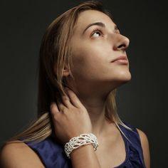 ThinkGeek :: Bone Cuff Bracelet