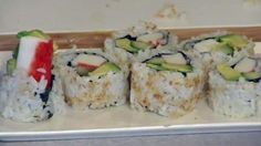 California Sushi Rolls- not veg. but could be