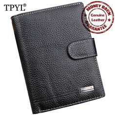 2016 New Arrivals 100% Cow Leather Large Capacity Men Passport Holder Wallets Purses Designer Male Card Case Wallet Coin Purse