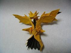 Origami Zapdos