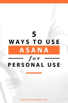 5 Ways to Use Asana for Personal Use Asana may be a popular project management tool for teams or businesses but it can also be extremely helpful for personal use. Read on to discover 5 ways you can try it yourself. Asana Project Management, Time Management Tools, Time Management Strategies, Entrepreneur, Business Tips, Business Coaching, Business Quotes, Creative Business, Online Business
