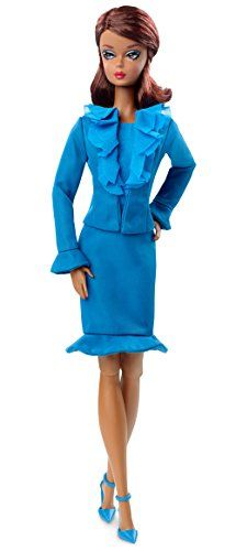 Barbie 20355 MIB 2016 Fashion Model City Chic Suit African American Doll for sale online City Chic, Barbie Clothes, Barbie Dolls, Barbie Outfits, Fashion Models, Gloves Fashion, Mattel, Himmelblau, Barbie Collection