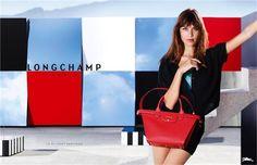 Longchamp Spring Summer 2015  Campaign  Visit : www.longchamp.com