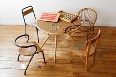 mommo design: LITTLE CHAIRS