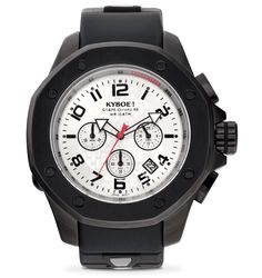Port Black • KYBOE! The Port collection is built to impress. This is the watch guys want to wear, women want to rock and everyone wants to have.
