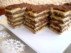 Romanian Desserts, Romanian Food, Xmas Cookies, Food Cakes, Sweet Cakes, Cheesecakes, Cooking Tips, Cake Recipes, Food And Drink