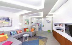 Sufit podświetlony oświetleniem LED