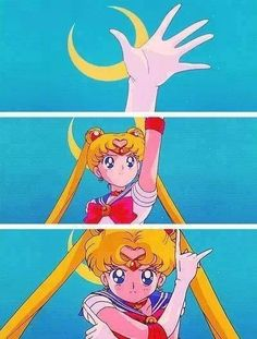 In the name of the moon, I'll punish you!!