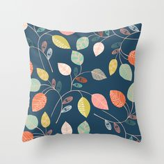 leaves pillow - Bethan Janine