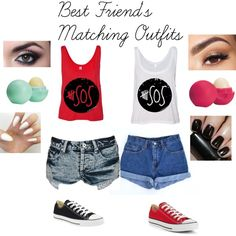 Cute Matching Outfits For Best Friends