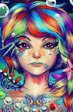Rainbow fish by GDBee