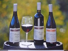 Here are the three special varieties of wine Ormeasco Guglierame #Wines from Liguria